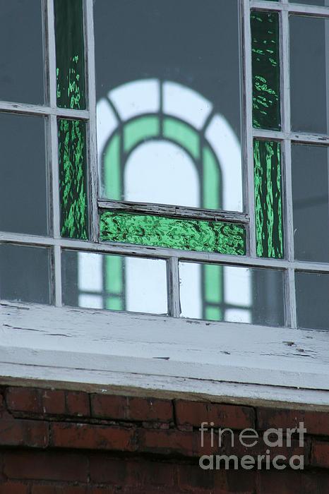 Details In Green At St. John Print by Jennifer Apffel
