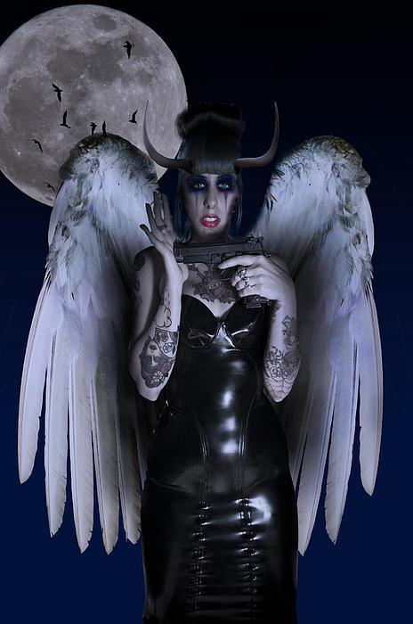 Devil Woman Print by Nathan Wright