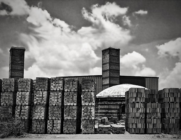 D'hanis Brick Factory Print by Wendy J St Christopher