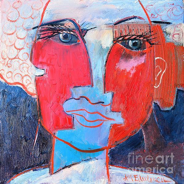 Dichotomous Being Print by Ana Maria Edulescu