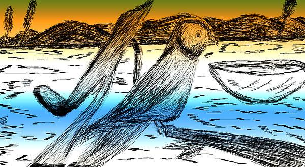 Digital Art 8 Print by Senthil Kumar