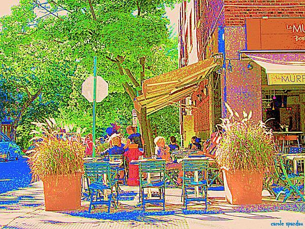 Dinner on the terrace le murphy boire et manger french for Dinner on the terrace