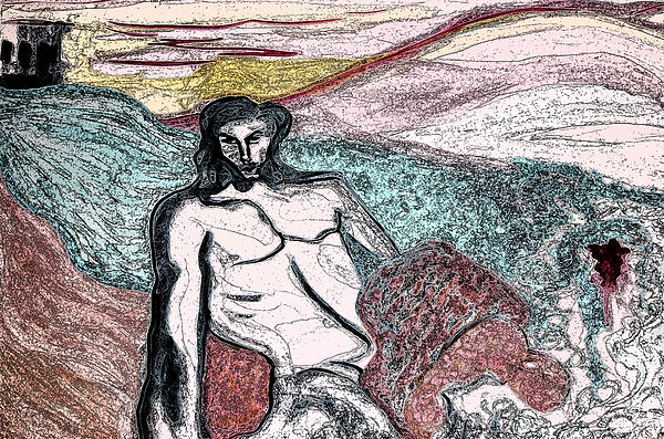 Dionysus By Jrr Print by First Star Art
