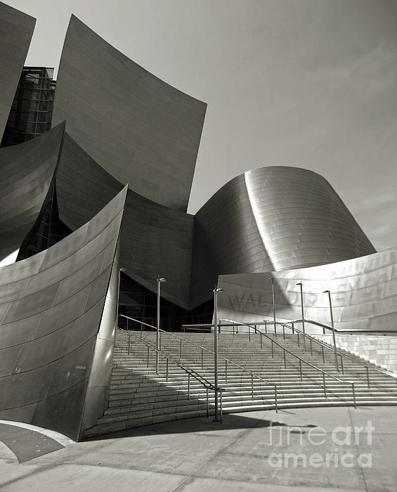 Disney Concert Hall Print by Gregory Dyer