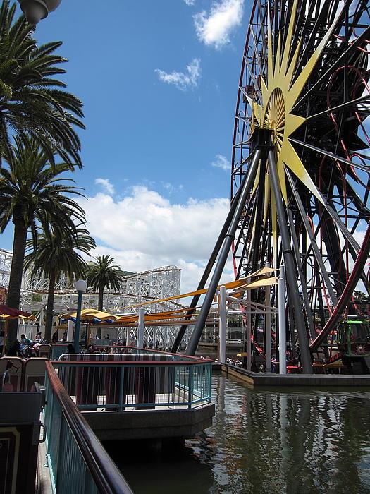 Disneyland Park Anaheim - 121257 Print by DC Photographer