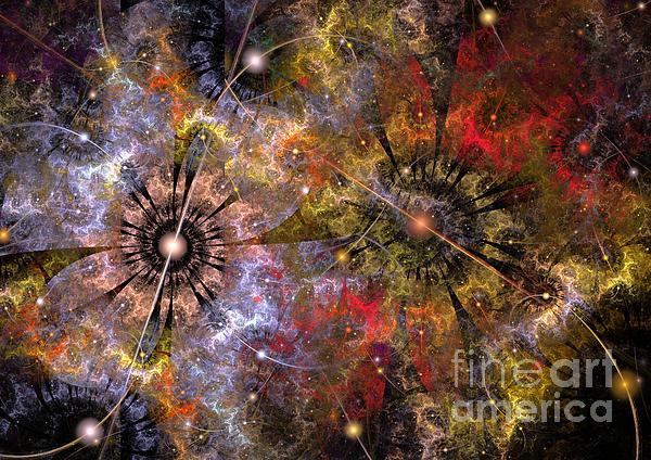 Distant Cosmos Print by Svetlana Nikolova