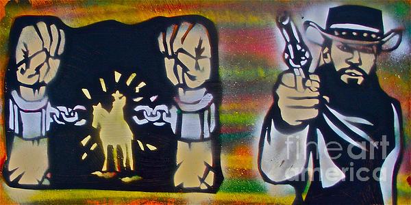 Django Gunnin' Print by Tony B Conscious