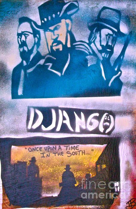 Django Once Upon A Time Print by Tony B Conscious