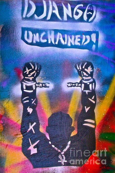 Django Unchained 2 Print by Tony B Conscious