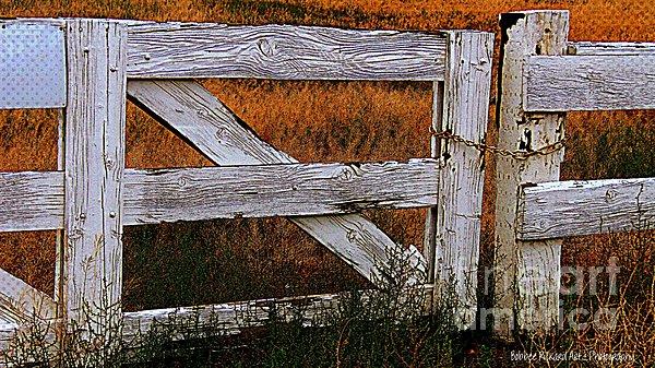 Do Not Enter Print by Bobbee Rickard