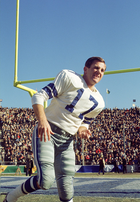 Don Meredith Warms Up Print by Retro Images Archive