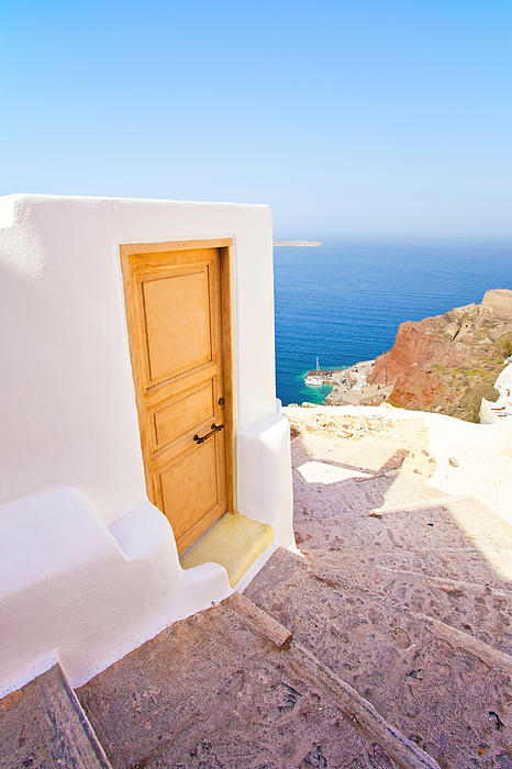 Door Suddenly Print by Aiolos Greek Collections