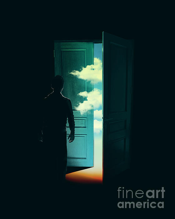 Door To The World Print by Budi Satria Kwan
