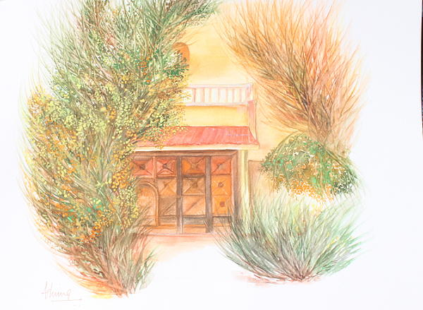 Ashima Kaushik - Door with Foliage