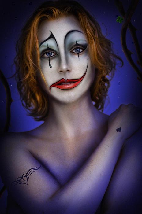 Double Face Print by Alessandro Della Pietra