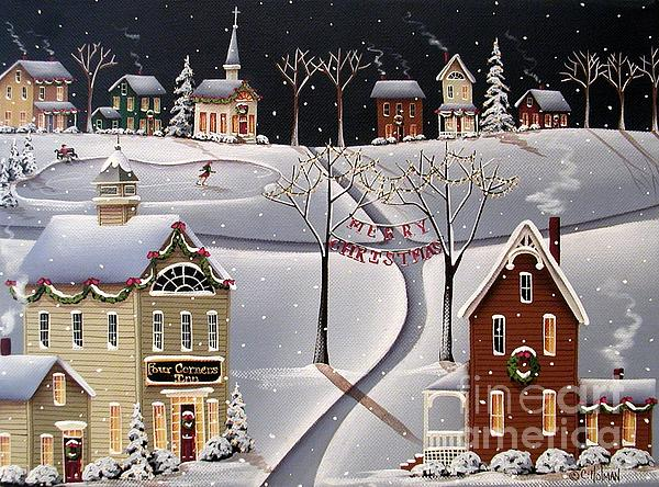 Down Home Christmas Print by Catherine Holman