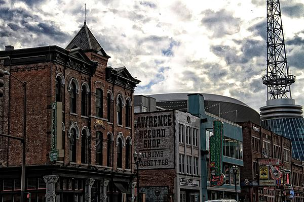 Downtown Nashville Print by Dan Sproul