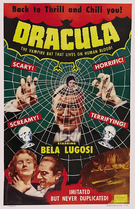 Dracula II Print by Ubknown