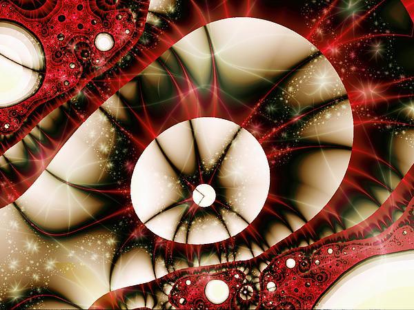 Dragon Eye Print by Anastasiya Malakhova