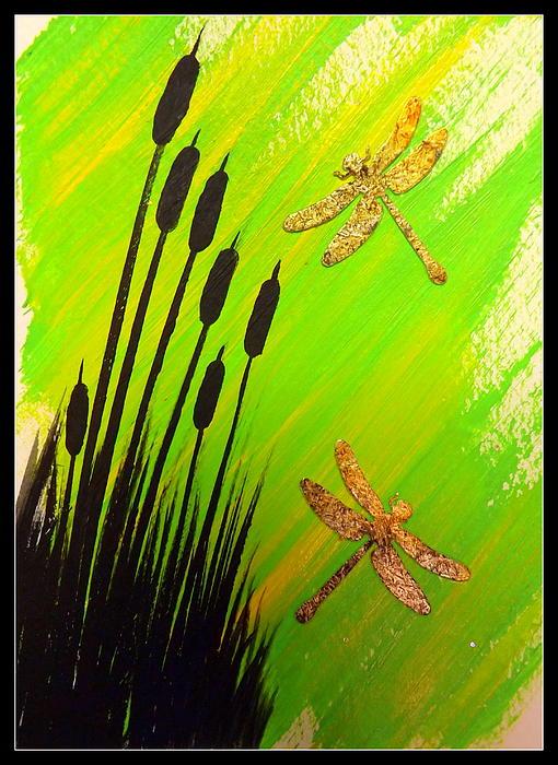 Dragonfly Dreams Print by Darren Robinson