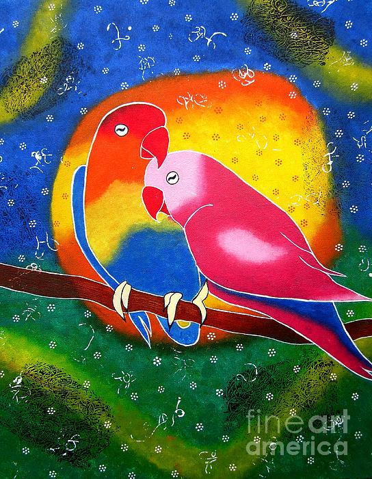 Dream Life-whimsical Painting Print by Priyanka Rastogi