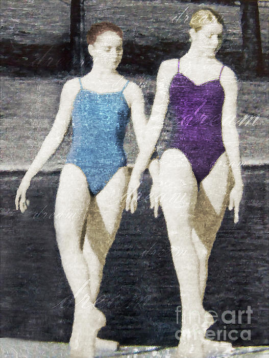 Dream Of Dance Print by Deborah Smith
