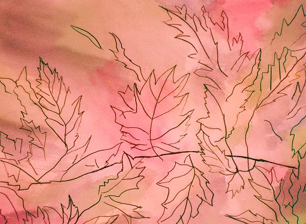 Dreaming Of Leaves Print by Anne-Elizabeth Whiteway