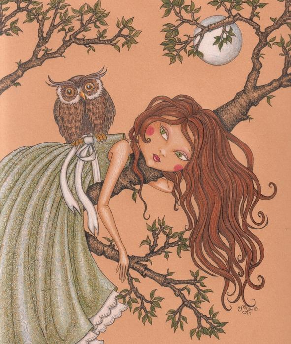 Dreaming Print by Snezana Kragulj