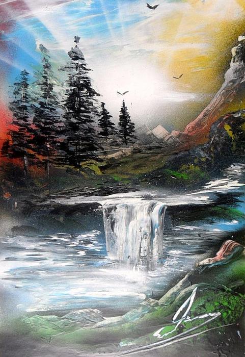Dreamland Print by Evaldo Art
