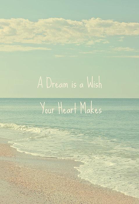 Dreams And Wishes Print by Kim Hojnacki