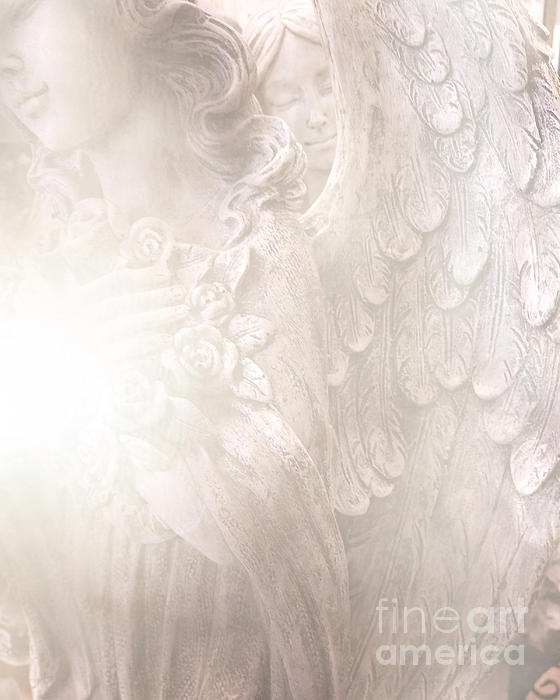 Kathy Fornal - Dreamy Angel Art - Ethereal Spiritual Dream Angel Wings - Heavenly Angel Wings
