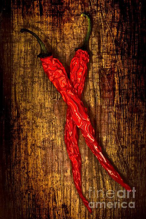 Dried Pepperoni Print by Shawn Hempel