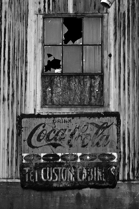 Drink Coca-cola Print by Randy Bayne