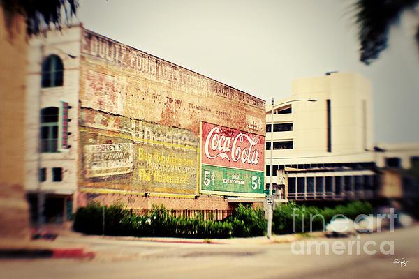 Drink Coca Cola Print by Scott Pellegrin
