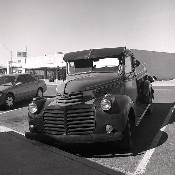 Driving A Relic - Film Print by Greg Larson