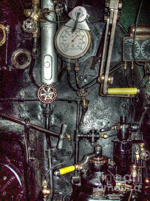 Driving Steam Print by MJ Olsen