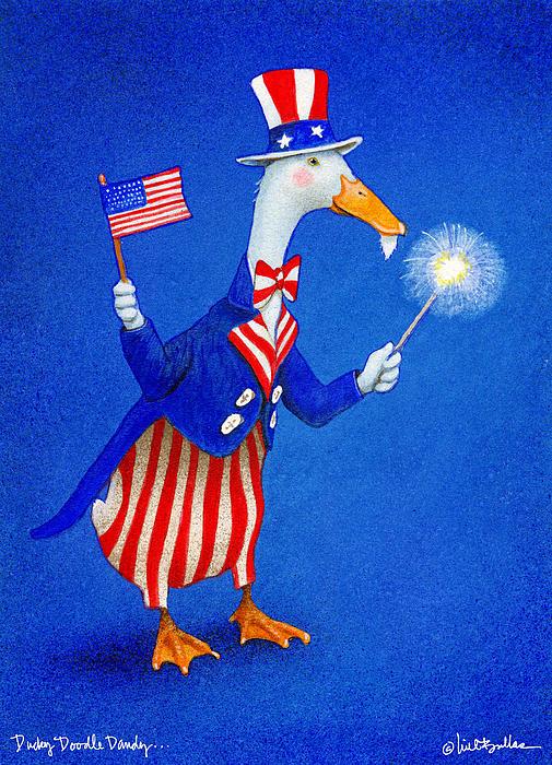 Ducky Doodle Dandy... Print by Will Bullas