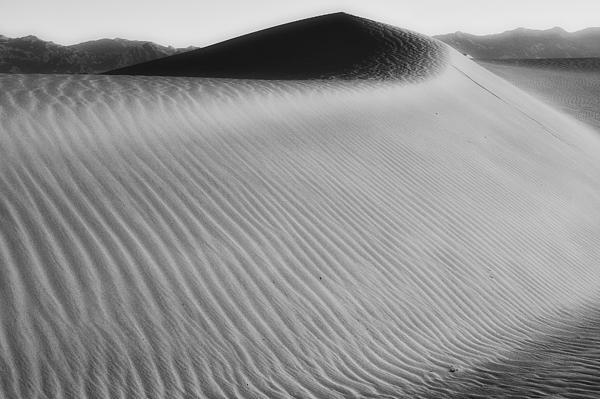 Dune Death Valley Print by Hugh Smith