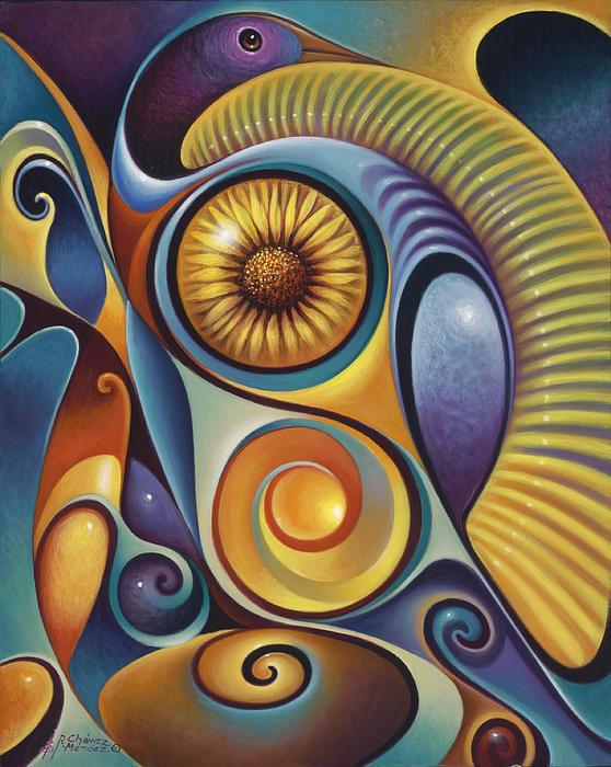 Dynamic Series #21 Print by Ricardo Chavez-Mendez
