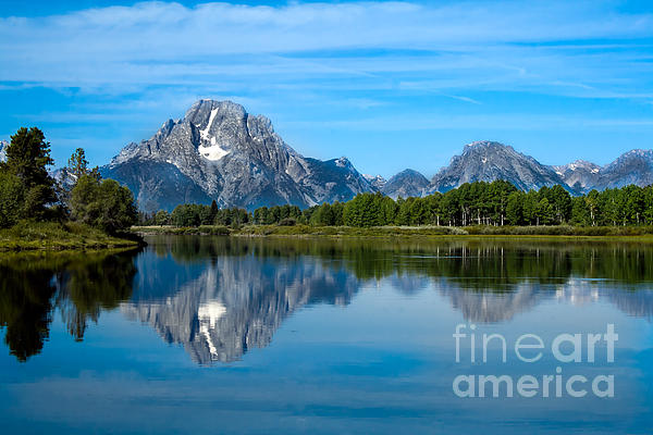 Robert Bales - Early Morning at Oxbow Bend