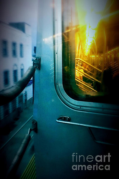 Early Morning Commute Print by James Aiken