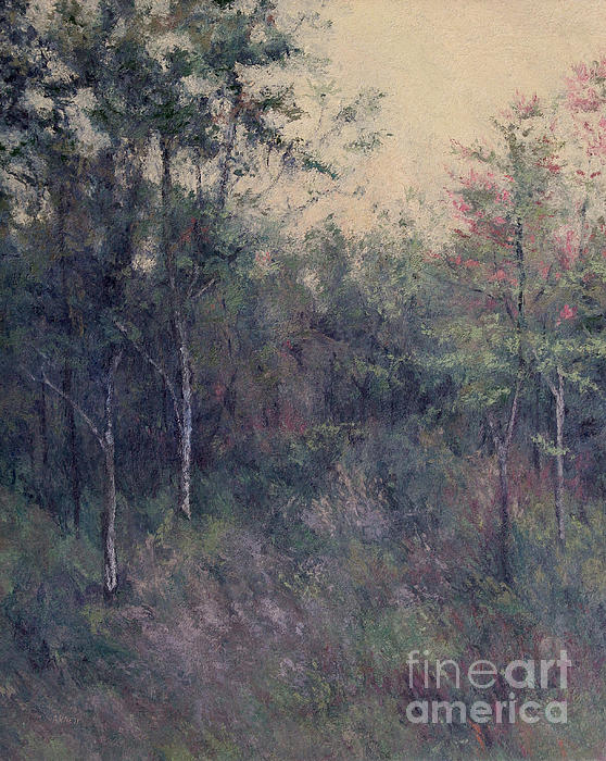 Early September Dusk Print by Gregory Arnett