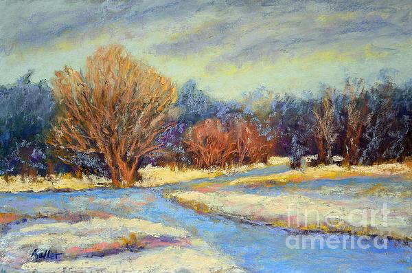 Early Snow Print by Arlene Baller