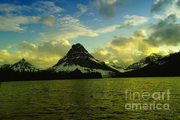 Jeff  Swan - East Glacier near sunset