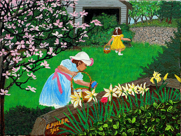 Edward Fuller - Easter at Grandma