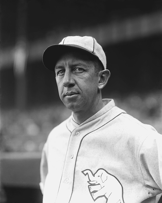 Eddie Collins Sr. Looking Into Camera Print by Retro Images Archive