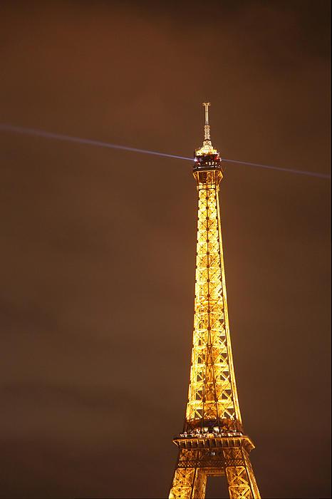 Eiffel Tower - Paris France - 011330 Print by DC Photographer