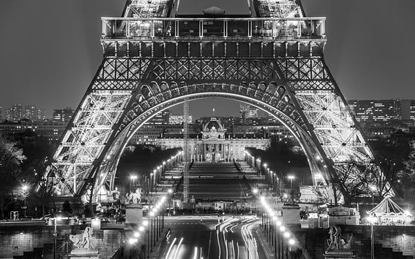 Eiffel Tower Print by Radek Hofman