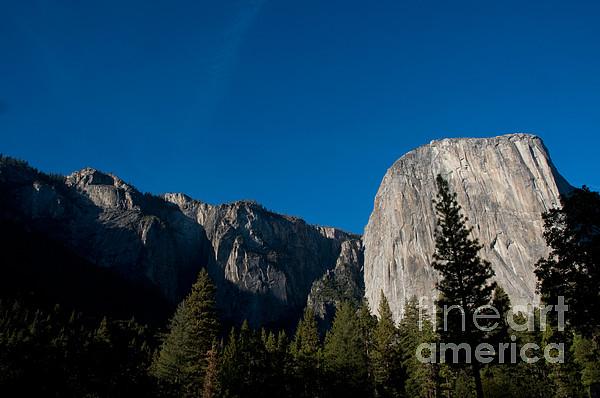 El Capitan, Yosemite Np Print by Mark Newman