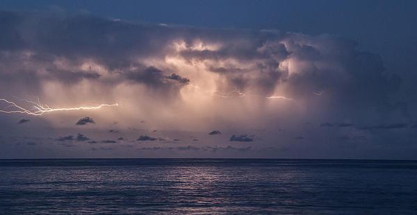 Electric Skys Print by Brad Scott